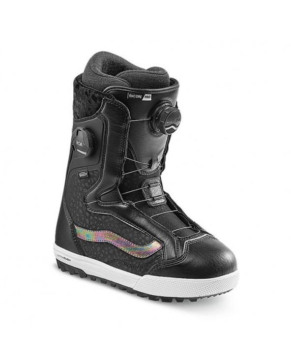 Vans Encore Pro Snowboard Boots - Black Irridescent
