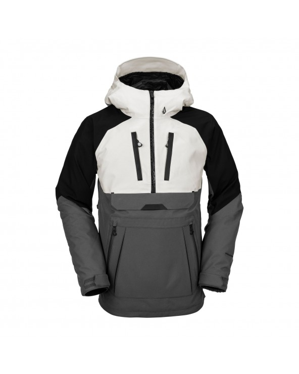 Volcom Snow Brighton Pullover Jacket - Grey