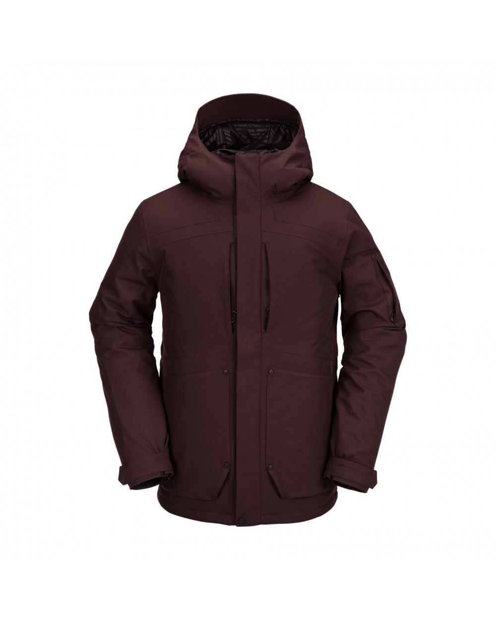 Volcom Snow Scortch Insulated Jacket - Black Red