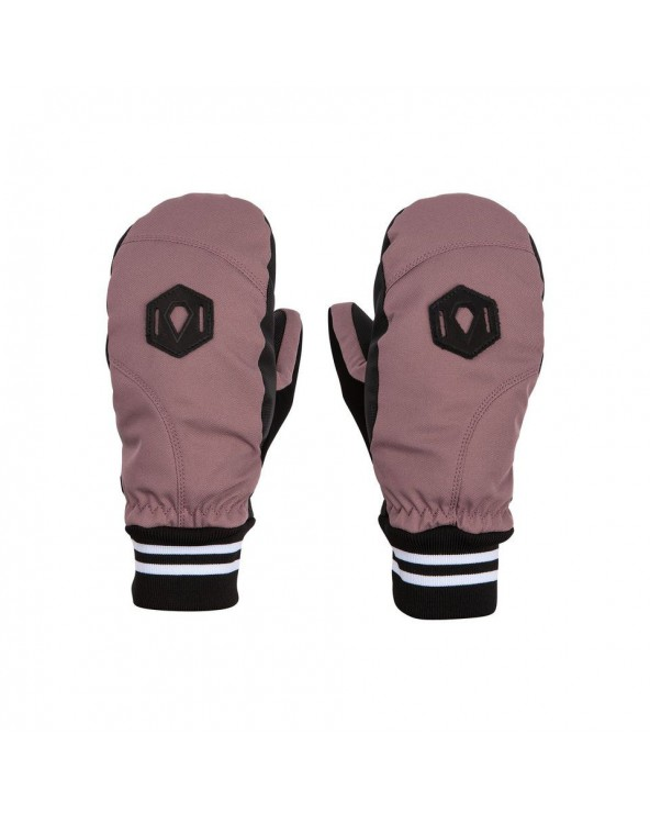 Volcom Snow Bistro Mitt - Rose Wood