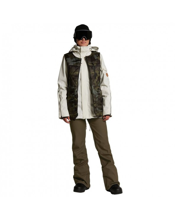 Volcom Snow Vault 4-in-1 Jacket - Bone