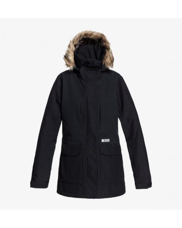 Dc Panoramic Snow Jacket - Black