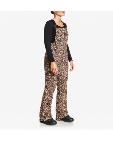 Dc Collective Bib Pant - Leopard Fade