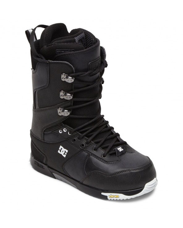 Dc Laced Lace-Up Snowboard Boots - Black