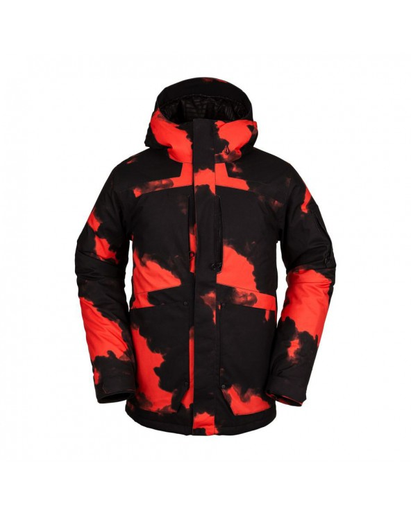 Volcom Snow Scortch Insulated Jacket - Magna Smoke