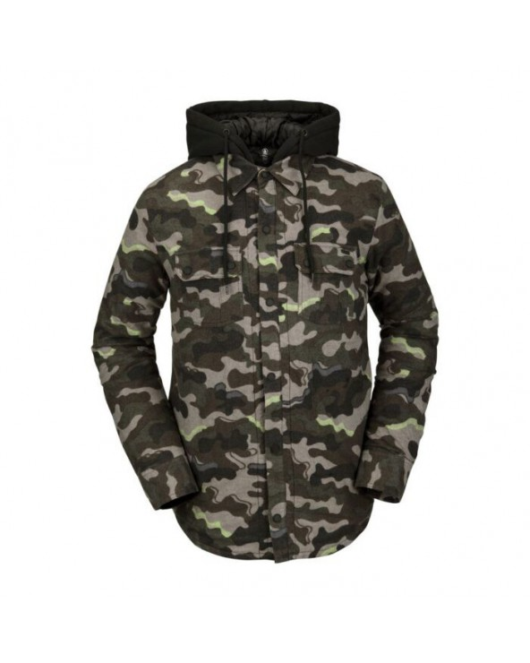 Volcom Field Insulated Flannel - Army
