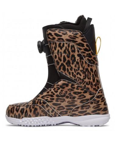 Dc Search BOA Snowboard Boots - Leopard Print