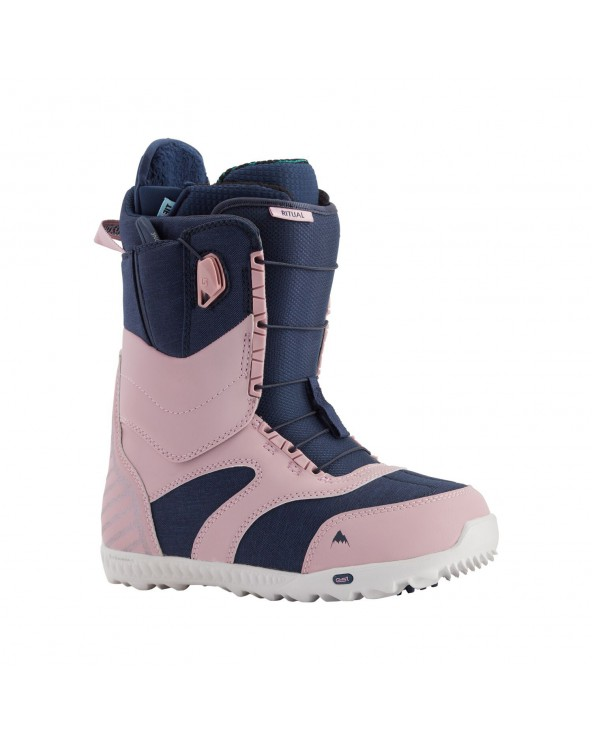 Burton Ritual Snowboard Boot - Dusty Rose / Blue