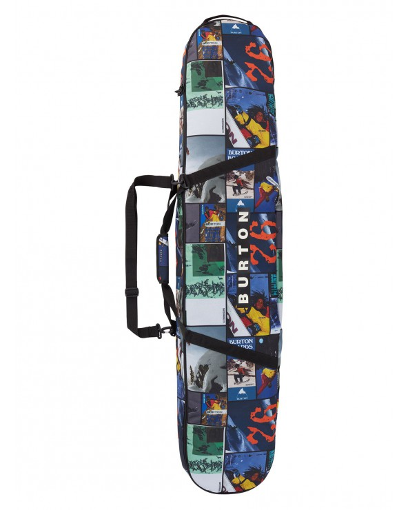Burton Space Sack Board Bag 156 - Catalog Collage Print