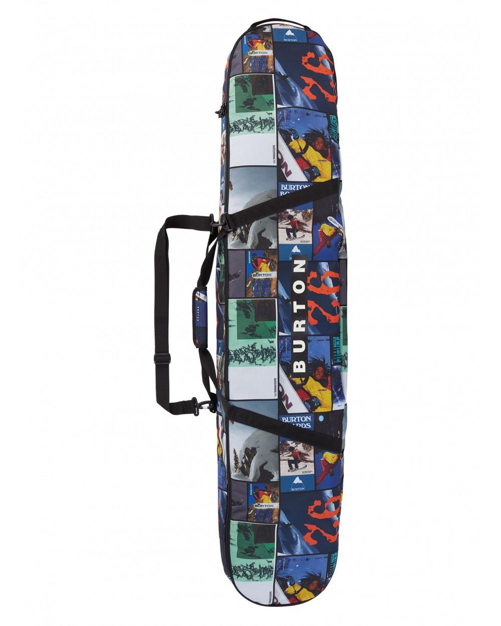 Burton Space Sack Board Bag 146 - Catalog Collage Print