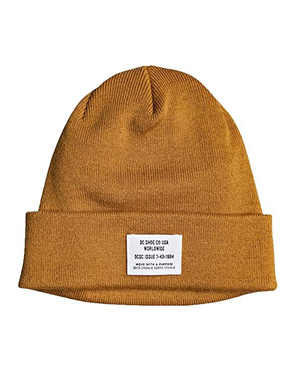 Dc Workman Cuff Beanie - Sudan Brown