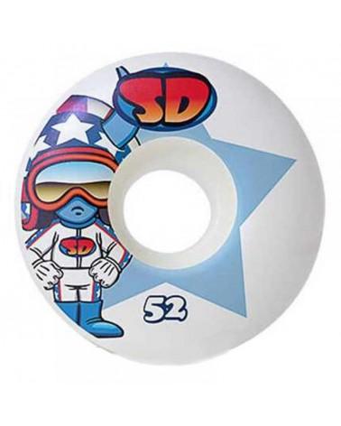 Speed Demons Stars Wheels Multi 52mm