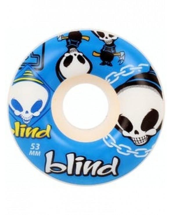 Blind Random Blue Wheels 53mm