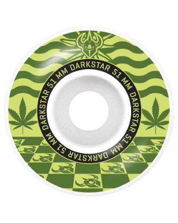 Darkstar Mirage Army Green Wheels 51mm
