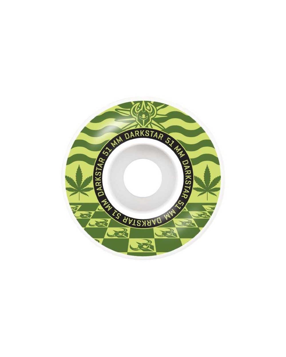 Darkstar Mirage Army Green Wheels 51mm