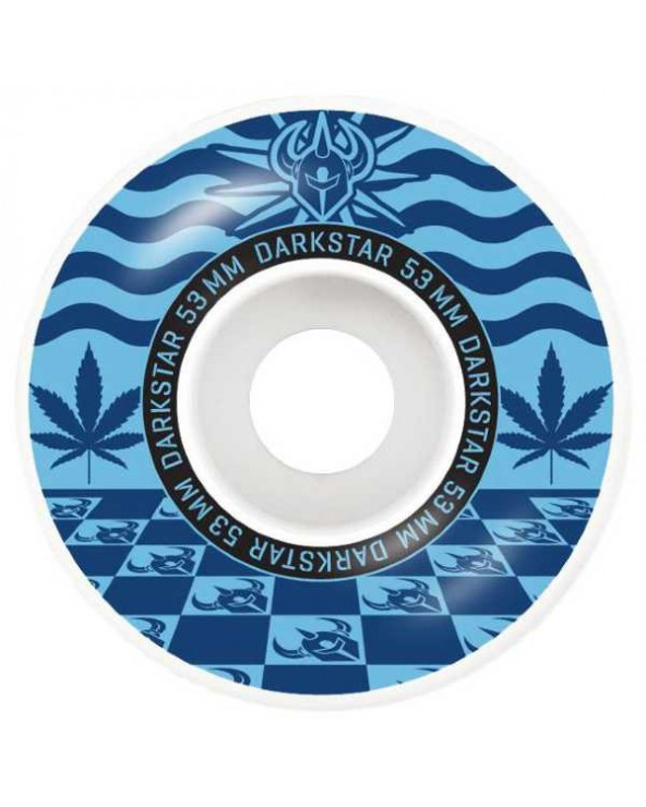 Darkstar Mirage Blue Wheels 53mm