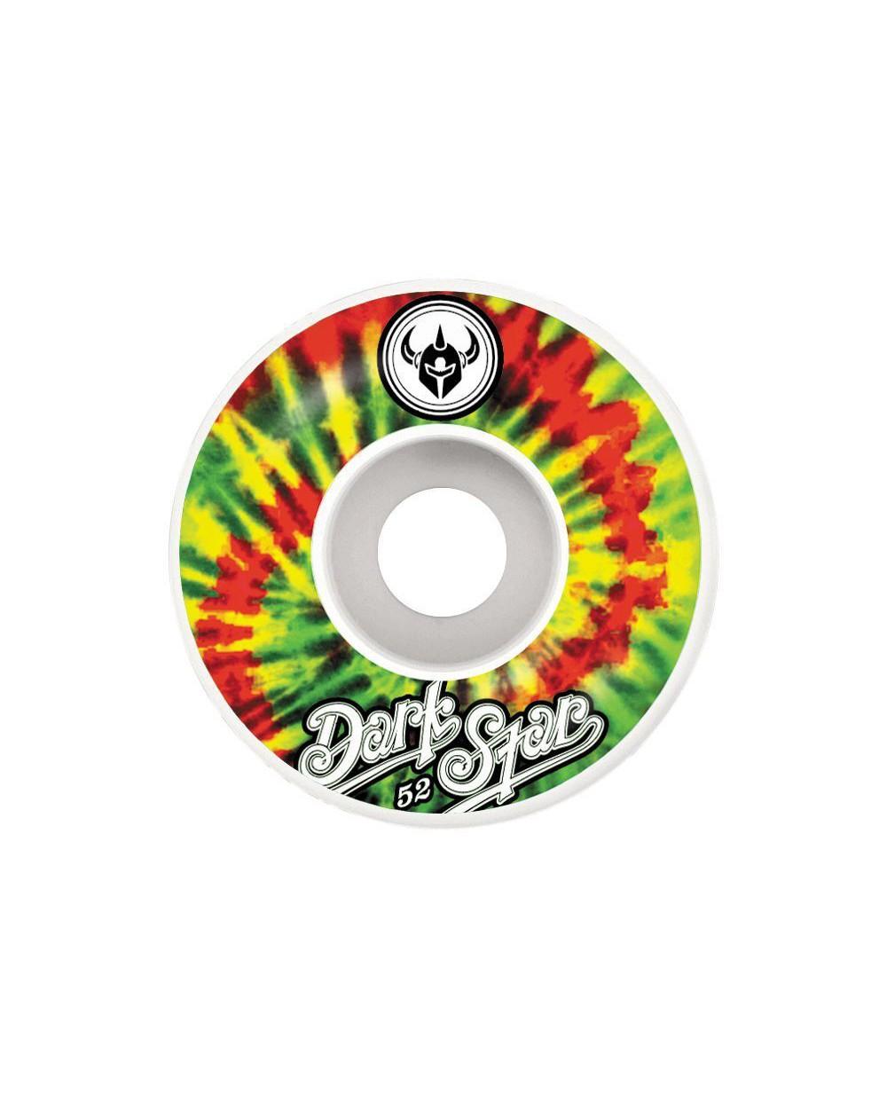 Darkstar Insignia Rasta Wheels - 52mm