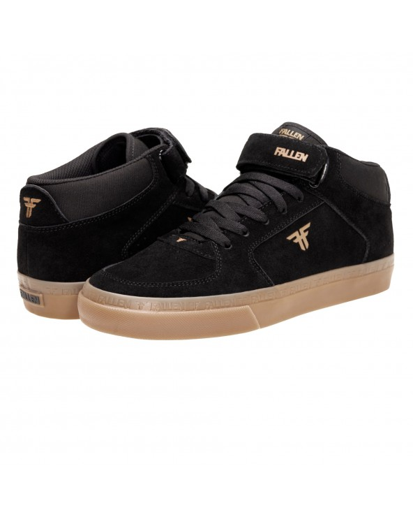 Fallen Tremont Mid Shoe - Black / Gum