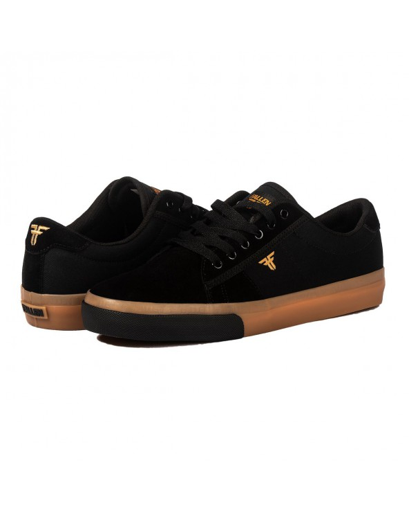 Fallen Bomber Shoe - Black / Gum
