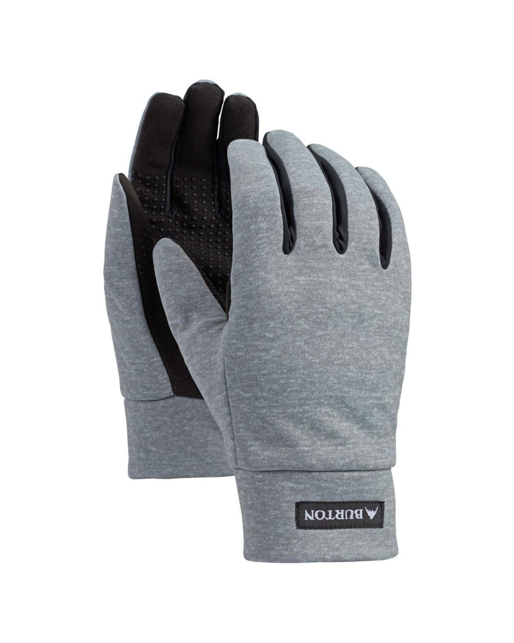 Burton Touch N Go Liner Glove - Gray Heather