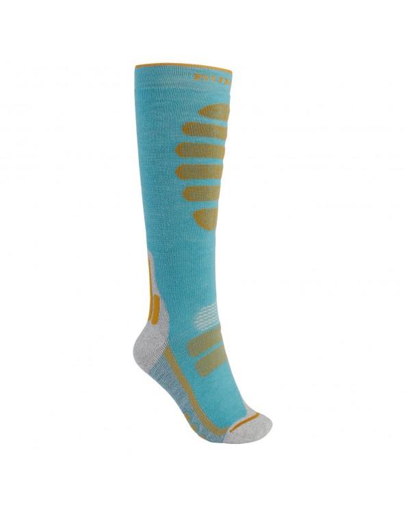 Burton Wms Performance Midweight Snowboard Socks - Trellis