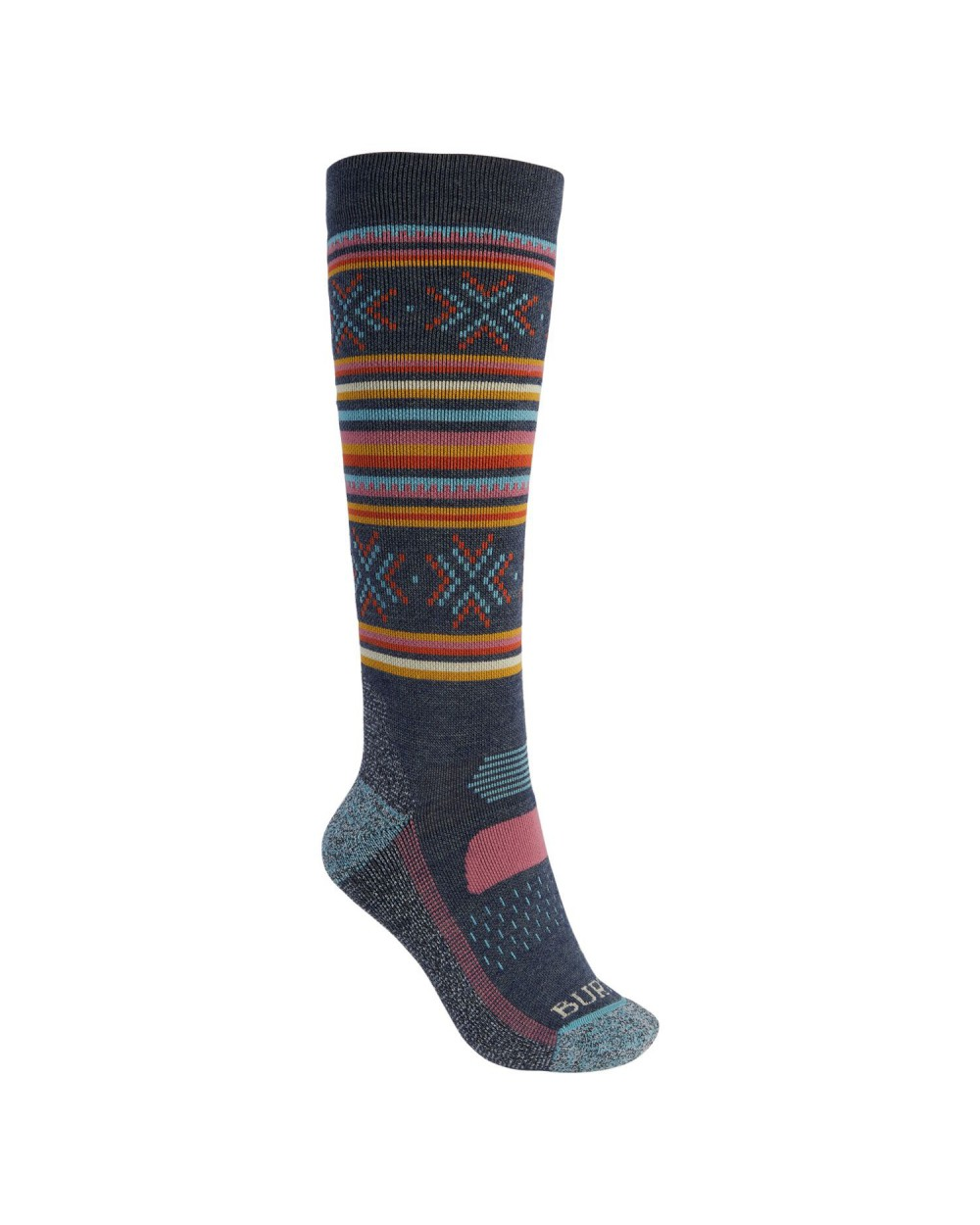 Burton Wms Performance Midweight Snowboard Socks - Dark Slate