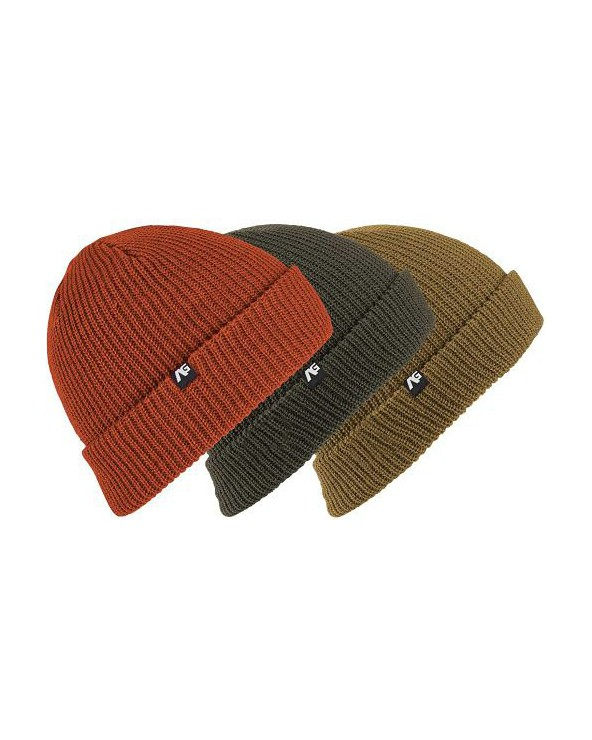 Analog Beanie 3-Pack - Forest Night / Dull Gold / Jello Shot