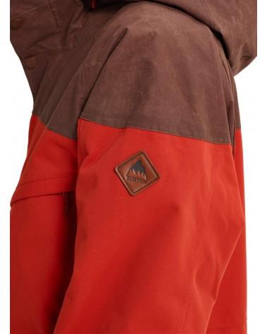 Burton Breach Insulated Jacket - Bitters / Chestnut Waxed