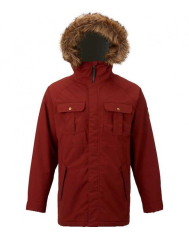 Burton Landgrove Jacket - Fired Brick